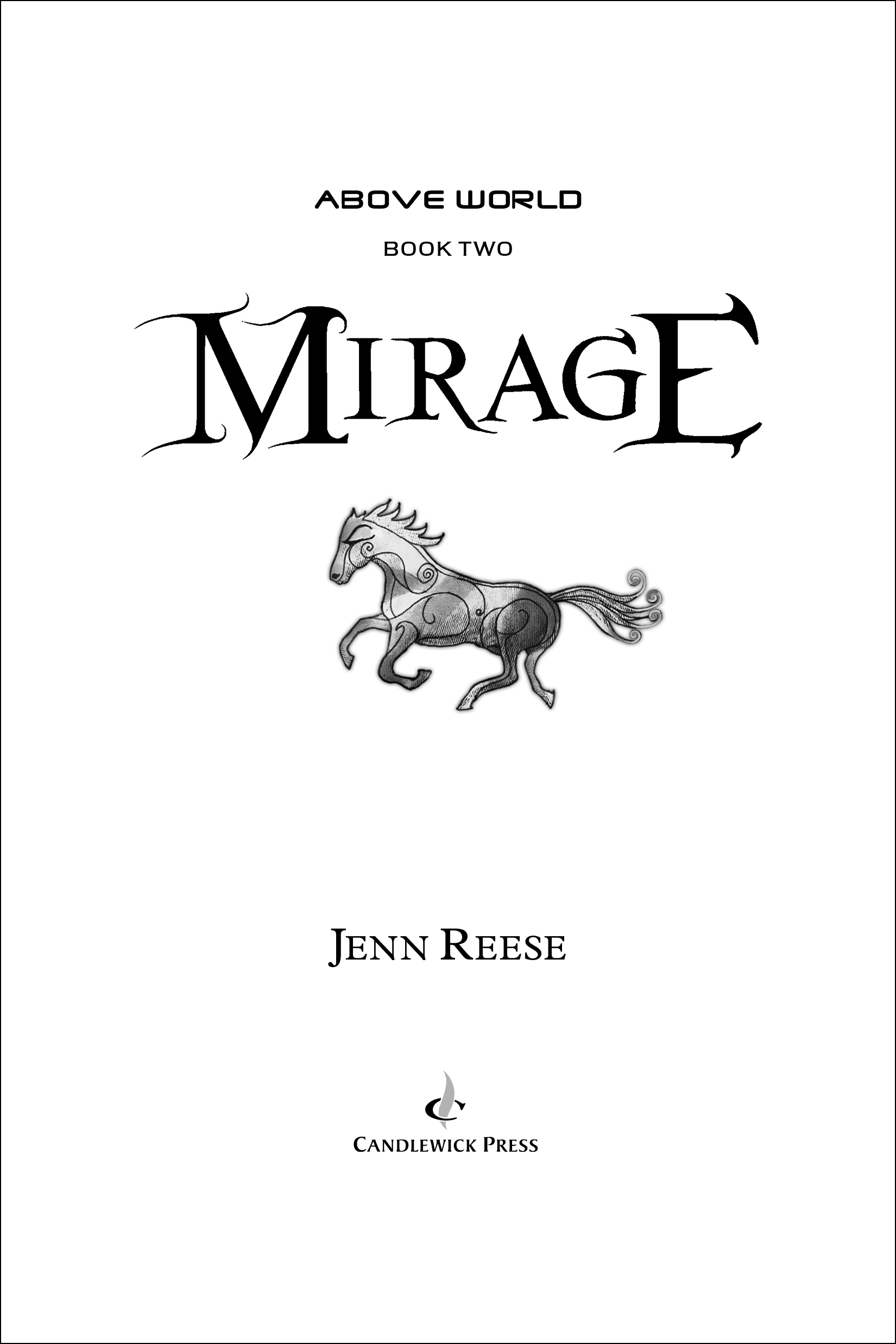 Title page for MIRAGE