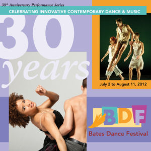Cover for BATES DANCE FESTIVAL CATALOG