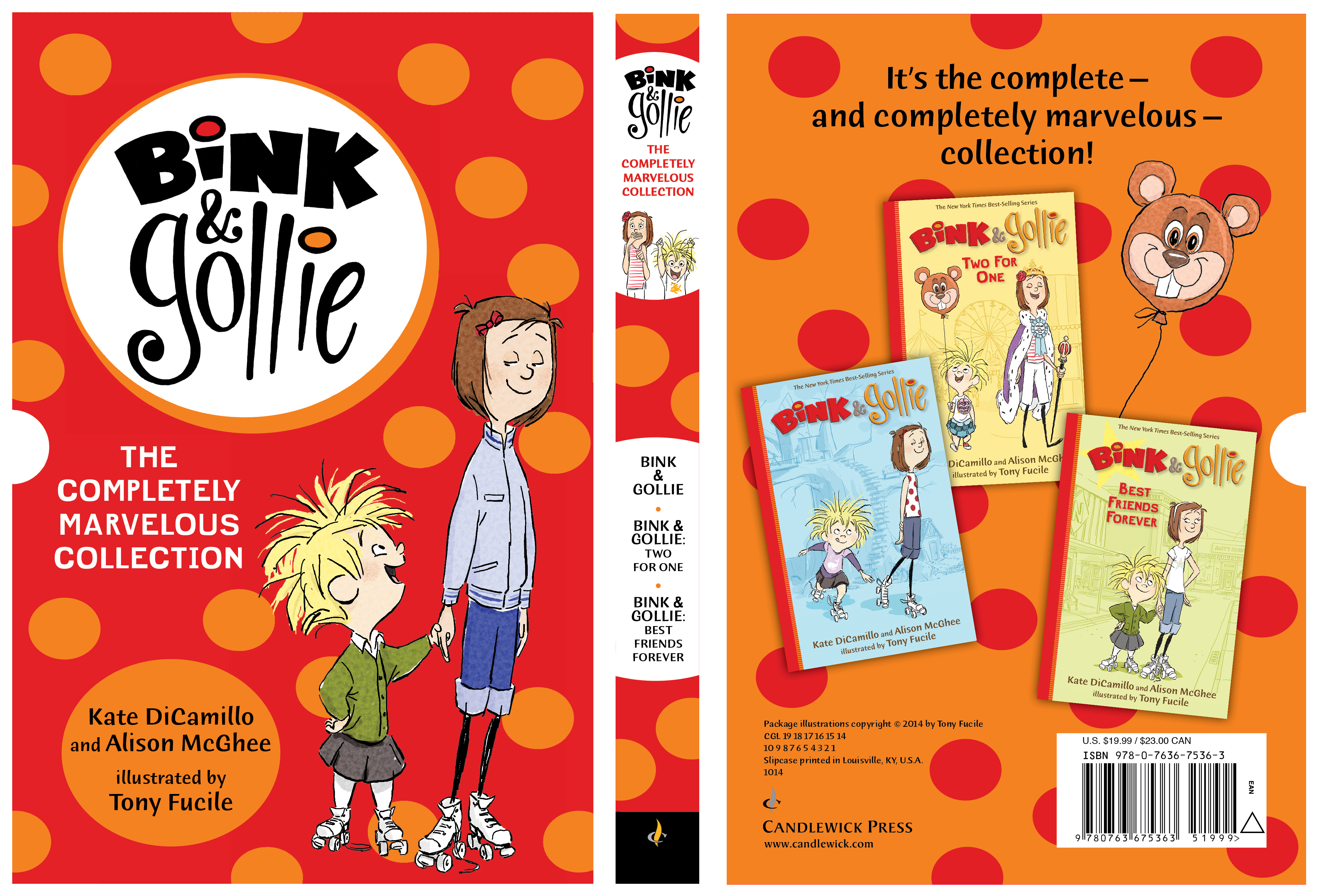 Slipcase for BINK & GOLLIE: THE COMPLETELY MARVELOUS COLLECTION