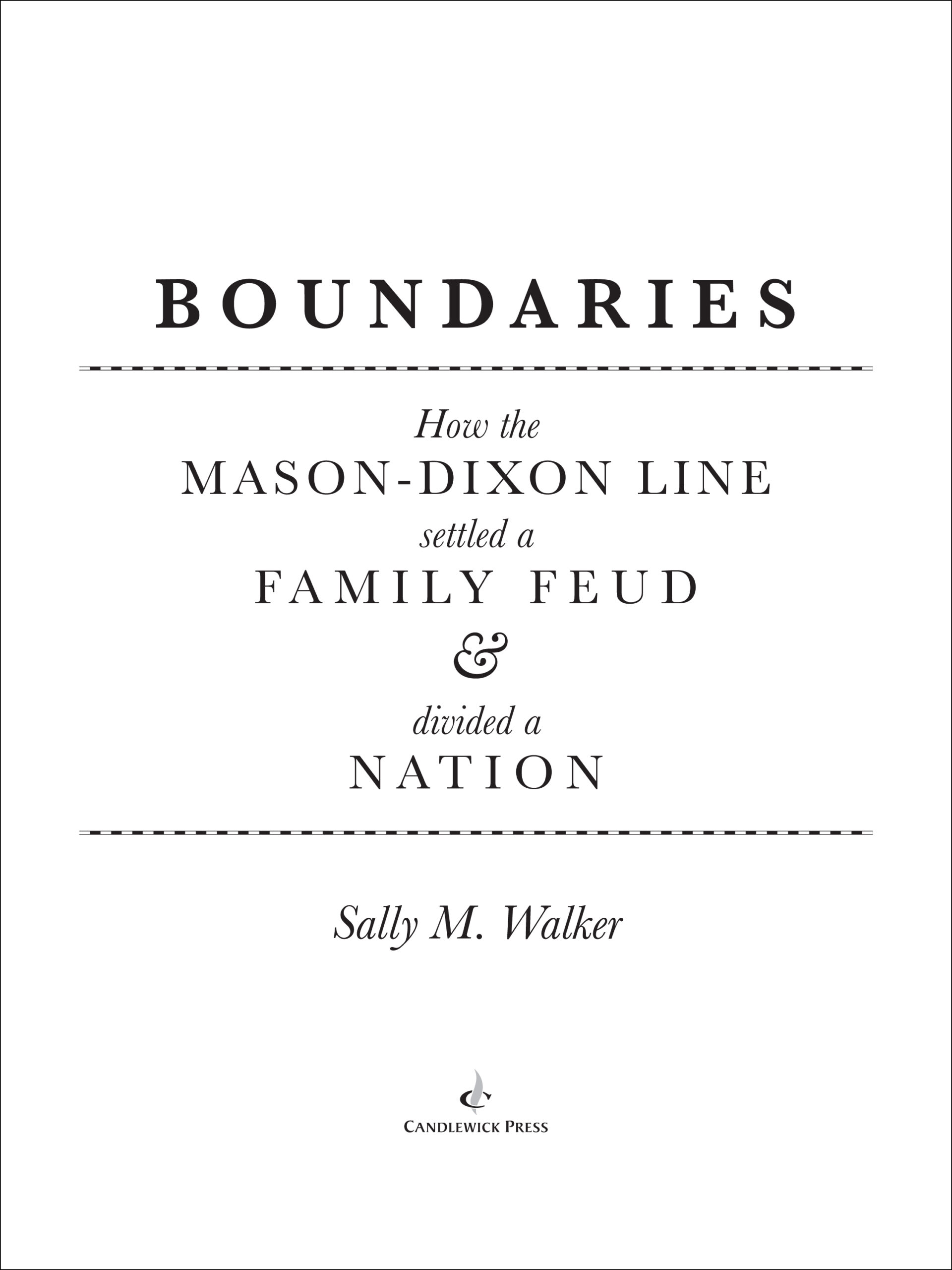 Title Page for BOUNDARIES