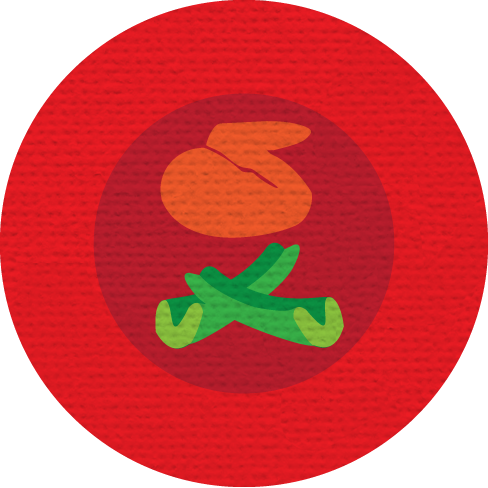 BUFFALO WING MERIT BADGE