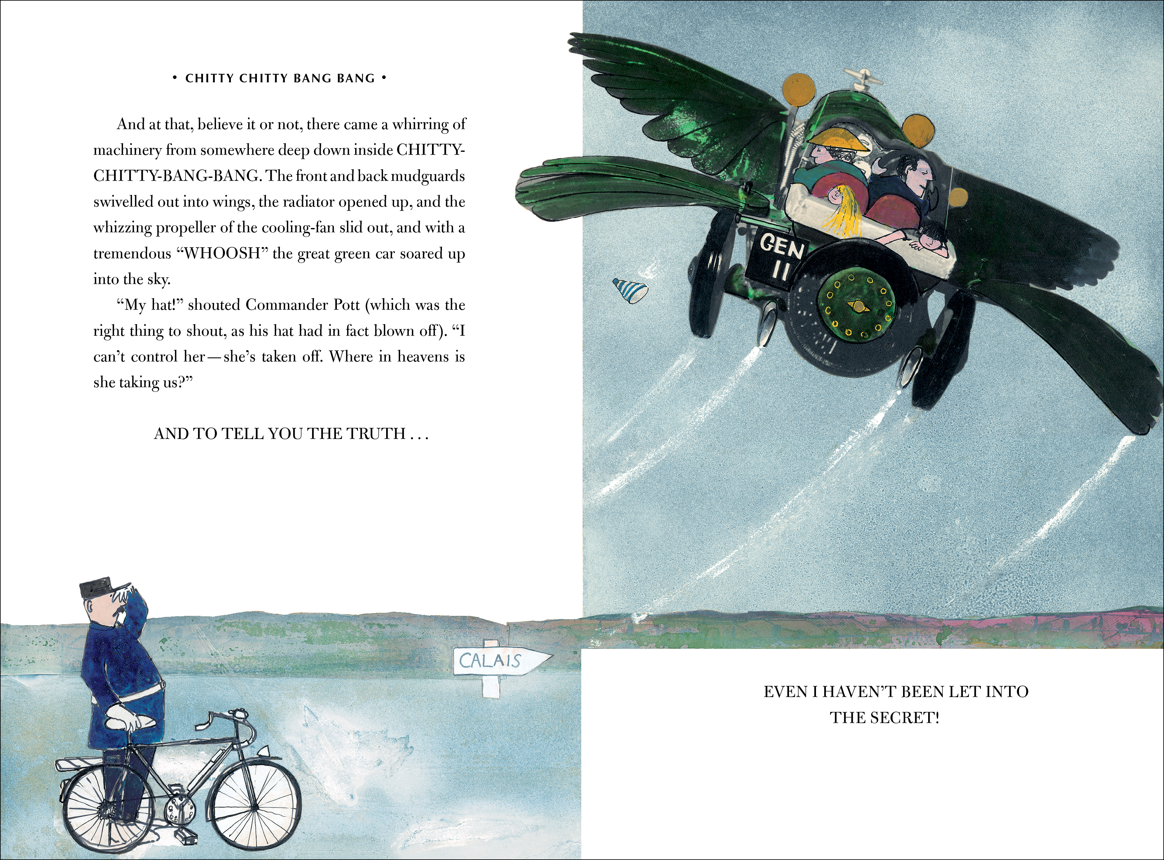 Text spread for CHITTY CHITTY BANG BANG