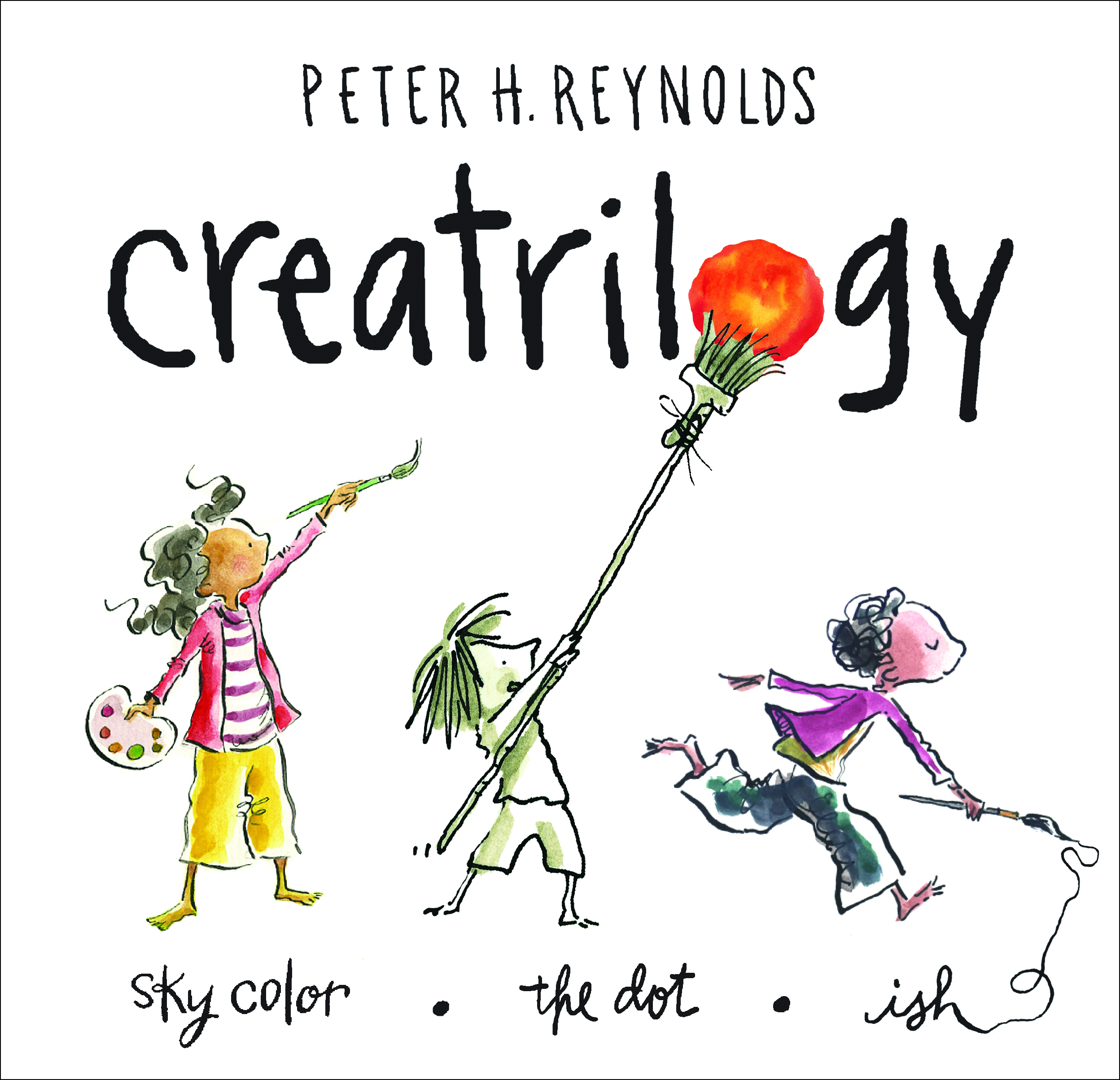 Front of the CREATRILOGY boxed set