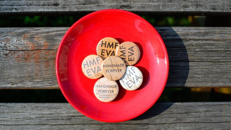 Handmade forever pins for HANDMADE FOR