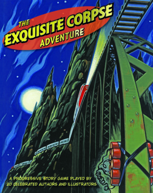 Jacket for THE EXQUISITE CORPSE ADVENTURE
