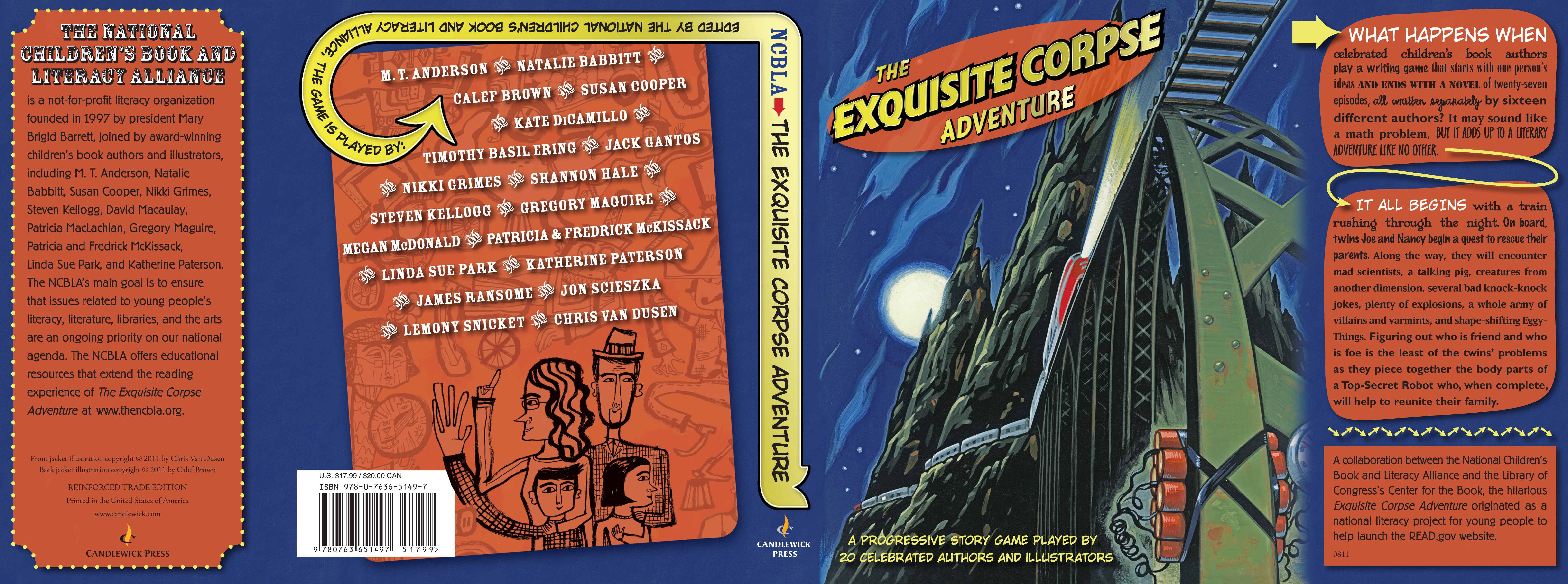 Full jacket for THE EXQUISITE CORPSE ADVENTURE