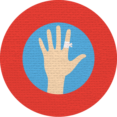 HEALING HANDS MERIT BADGE