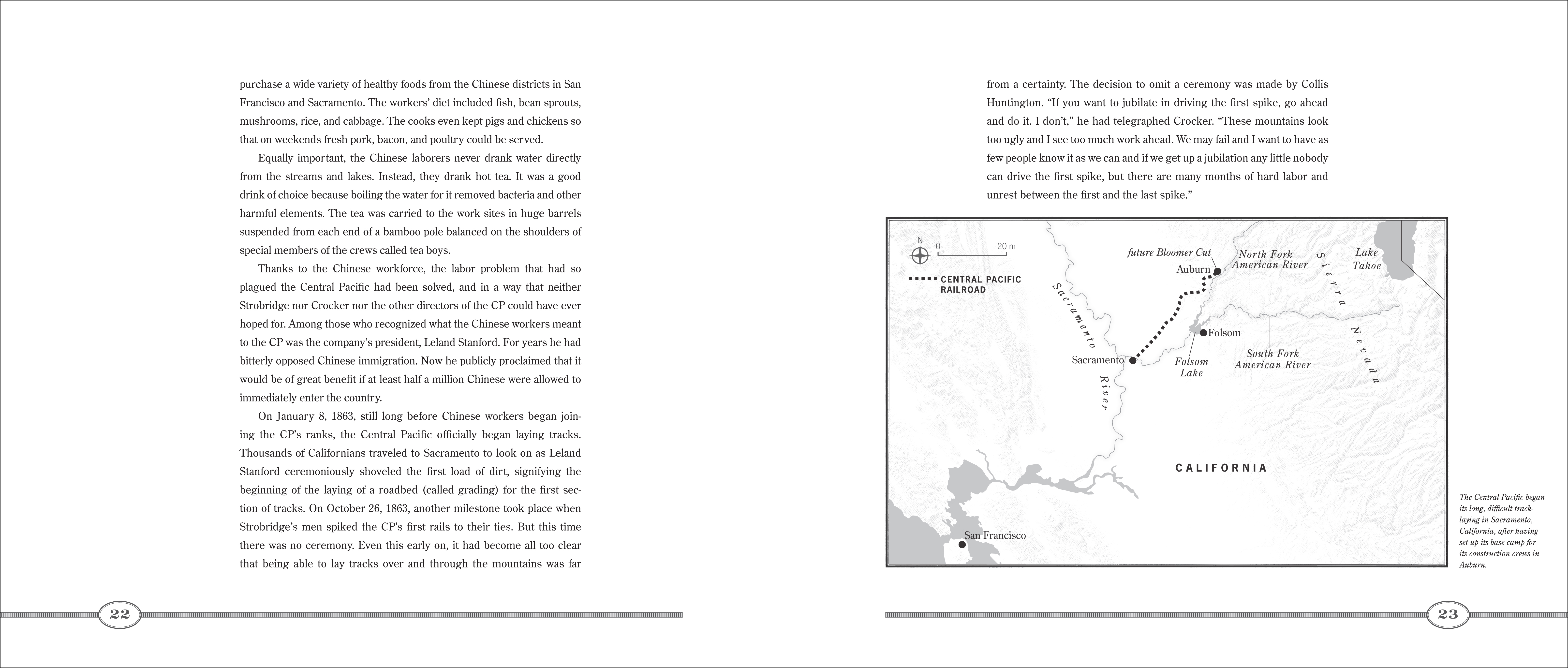 Text spread for IRON RAILS, IRON MEN, AND THE RACE TO LINK THE NATION
