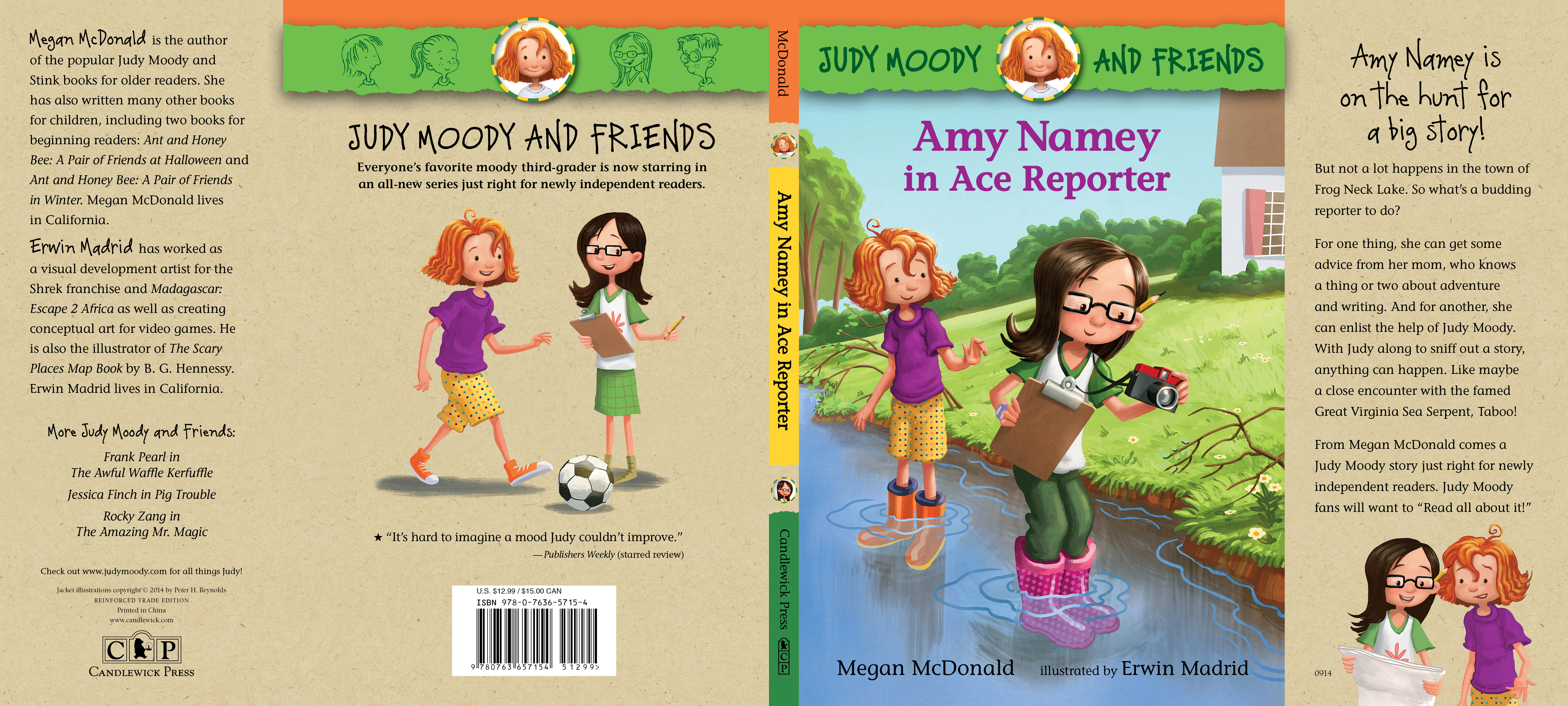 Full jacket for AMY NAMEY IN ACE REPORTER