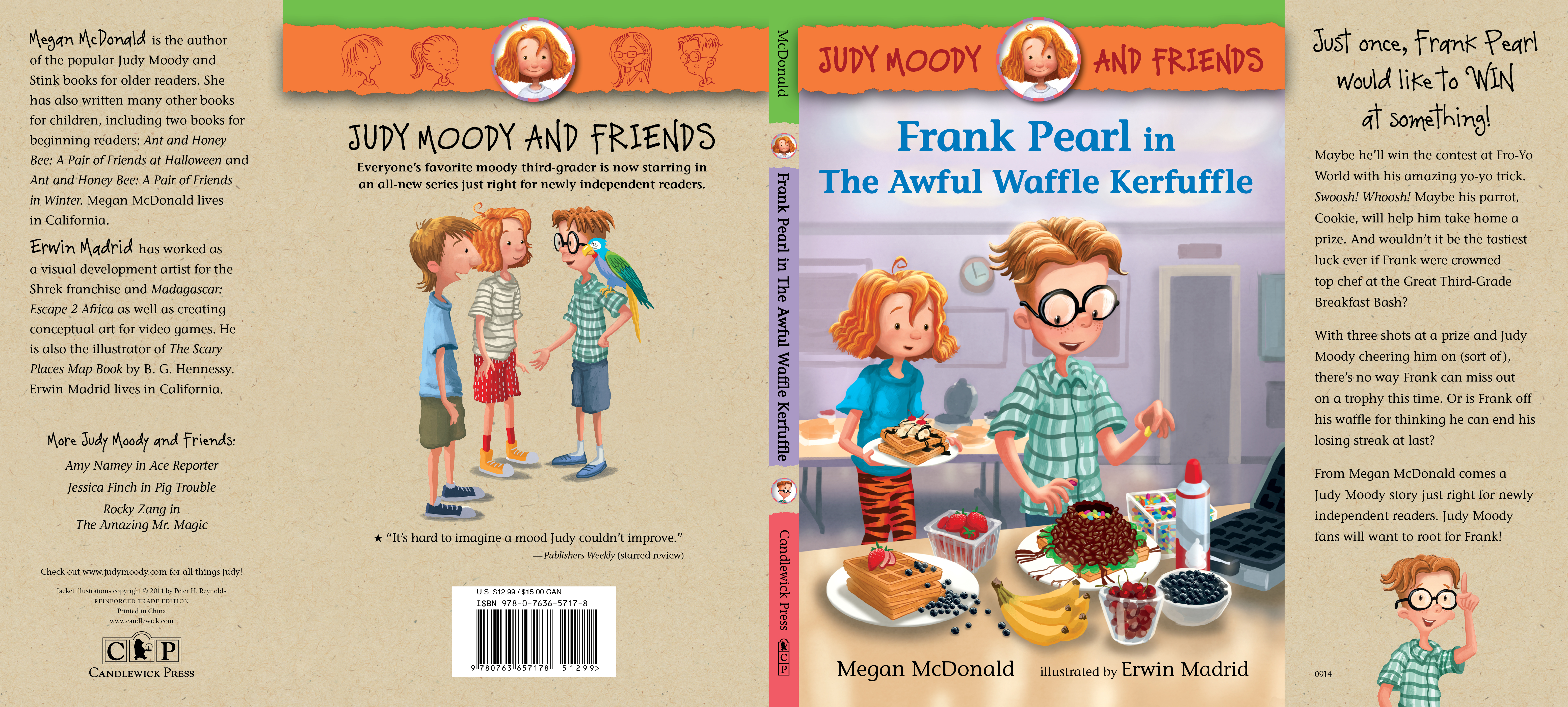 Full jacket for FRANK PEARL IN THE AWFUL WAFFLE KERFUFFLE