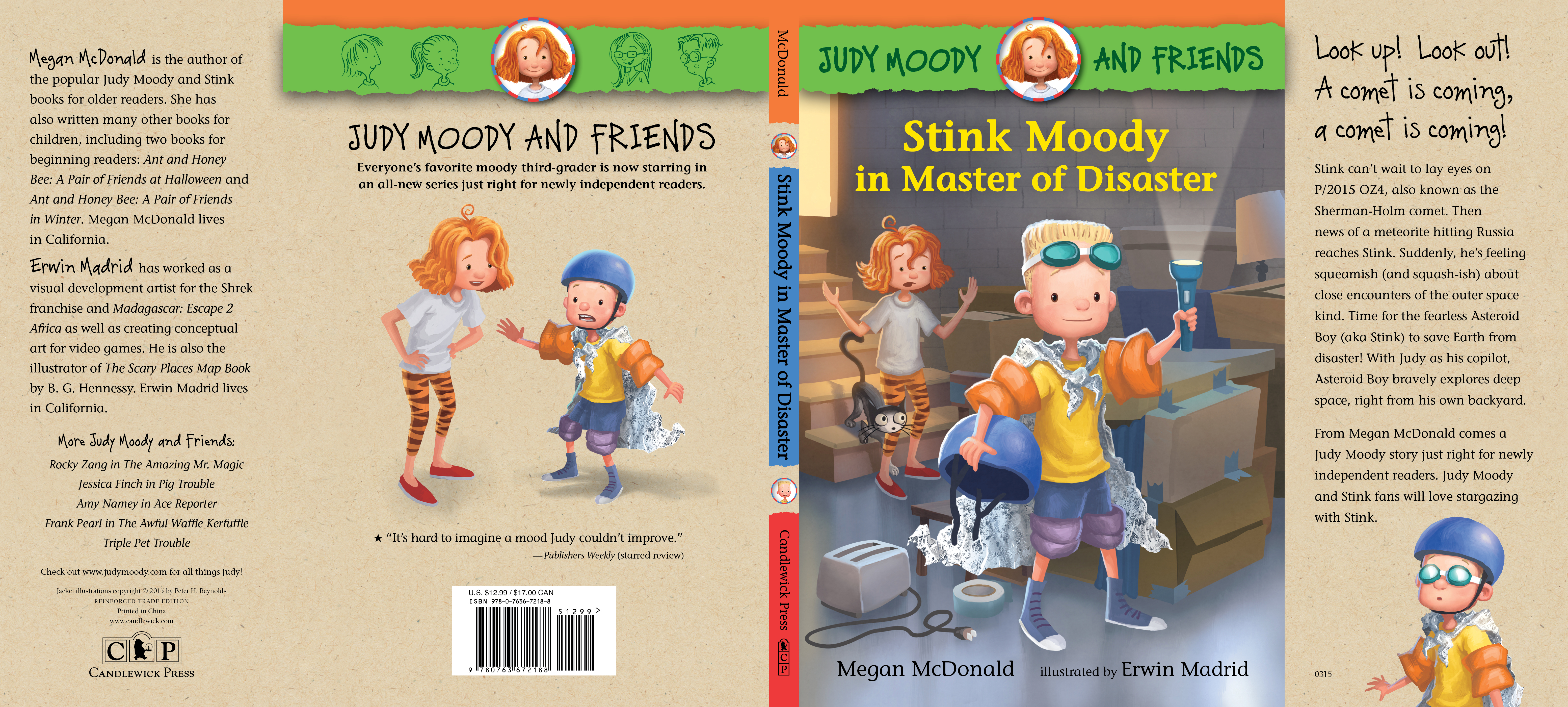 Full jacket for STINK MOODY IN THE MASTER OF DISASTER