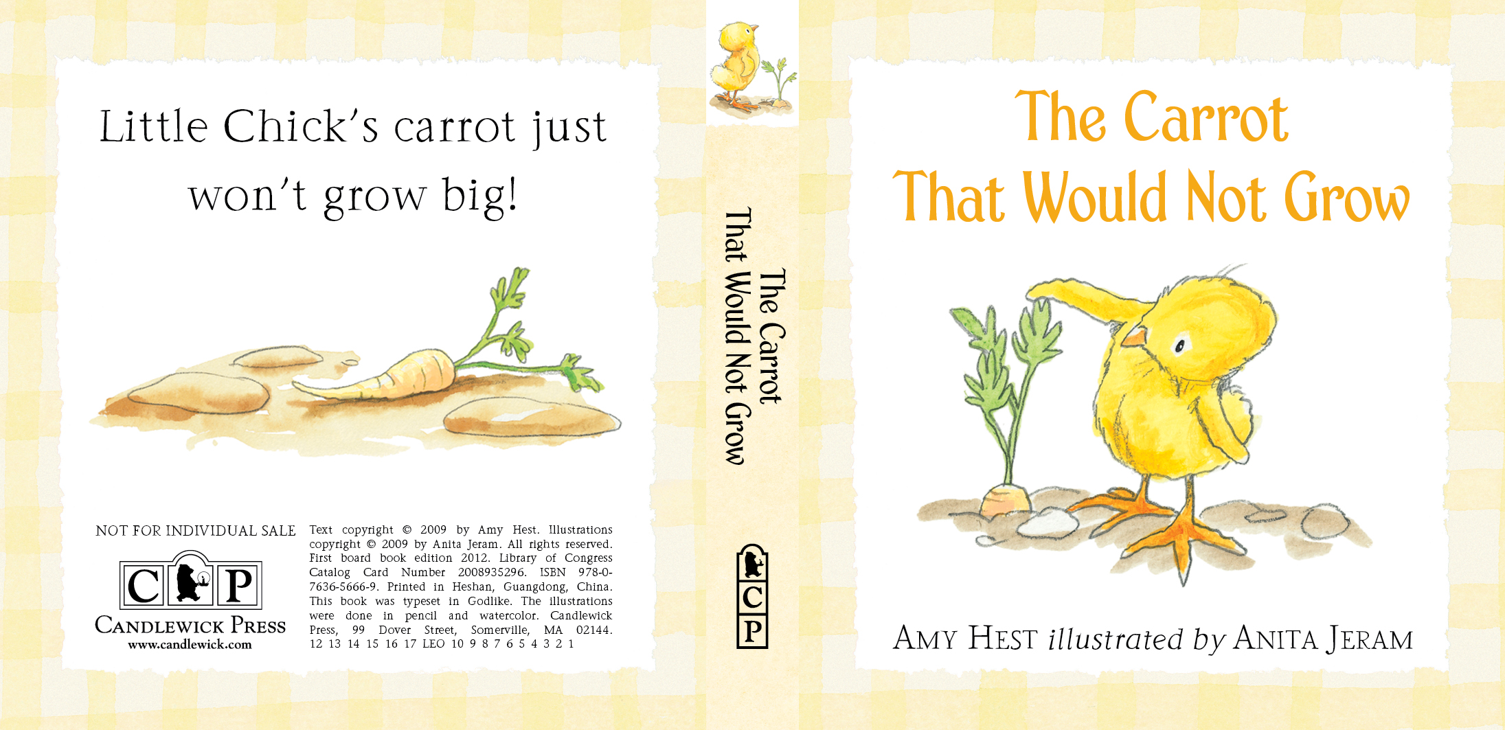 Cover for CARROT from LITTLE CHICK: THREE LITTLE STORIES