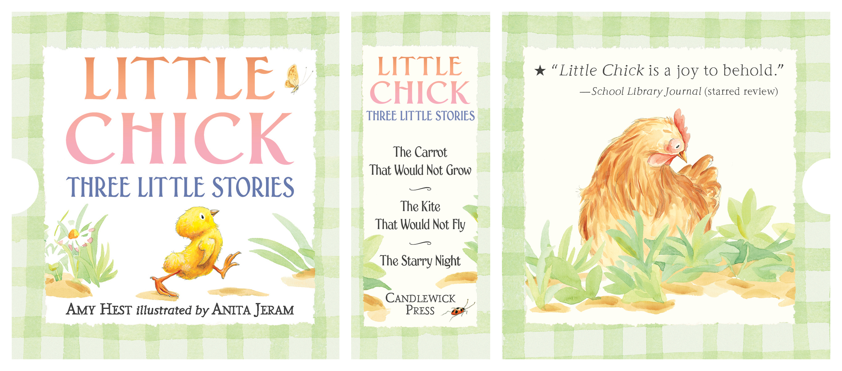LITTLE CHICK: THREE LITTLE STORIES boxed set