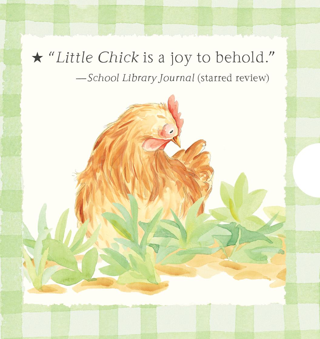 Back of slipcase for LITTLE CHICK: THREE LITTLE STORIES