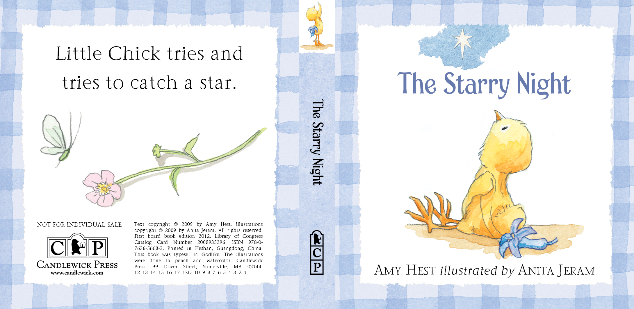 Full cover for STAR from LITTLE CHICK: THREE LITTLE STORIES
