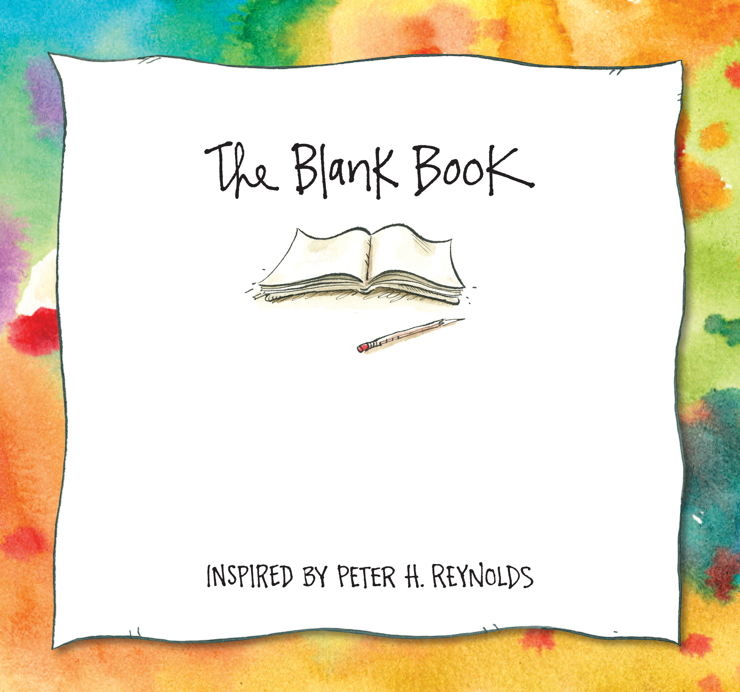 Cover for MAKE YOUR MARK KIT: THE BLANK BOOK