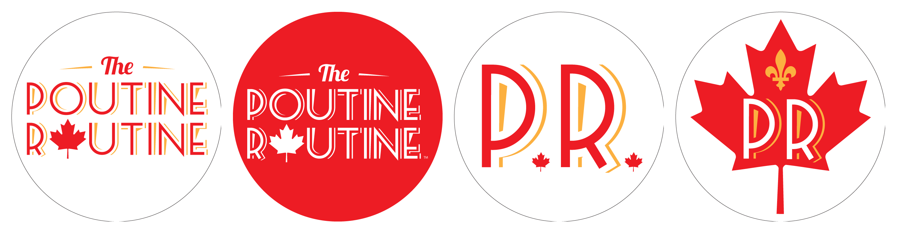 Pins for THE POUTINE ROUTINE