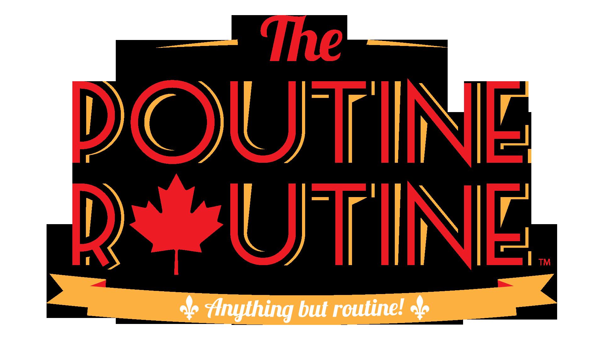 Logo for THE POUTINE ROUTINE