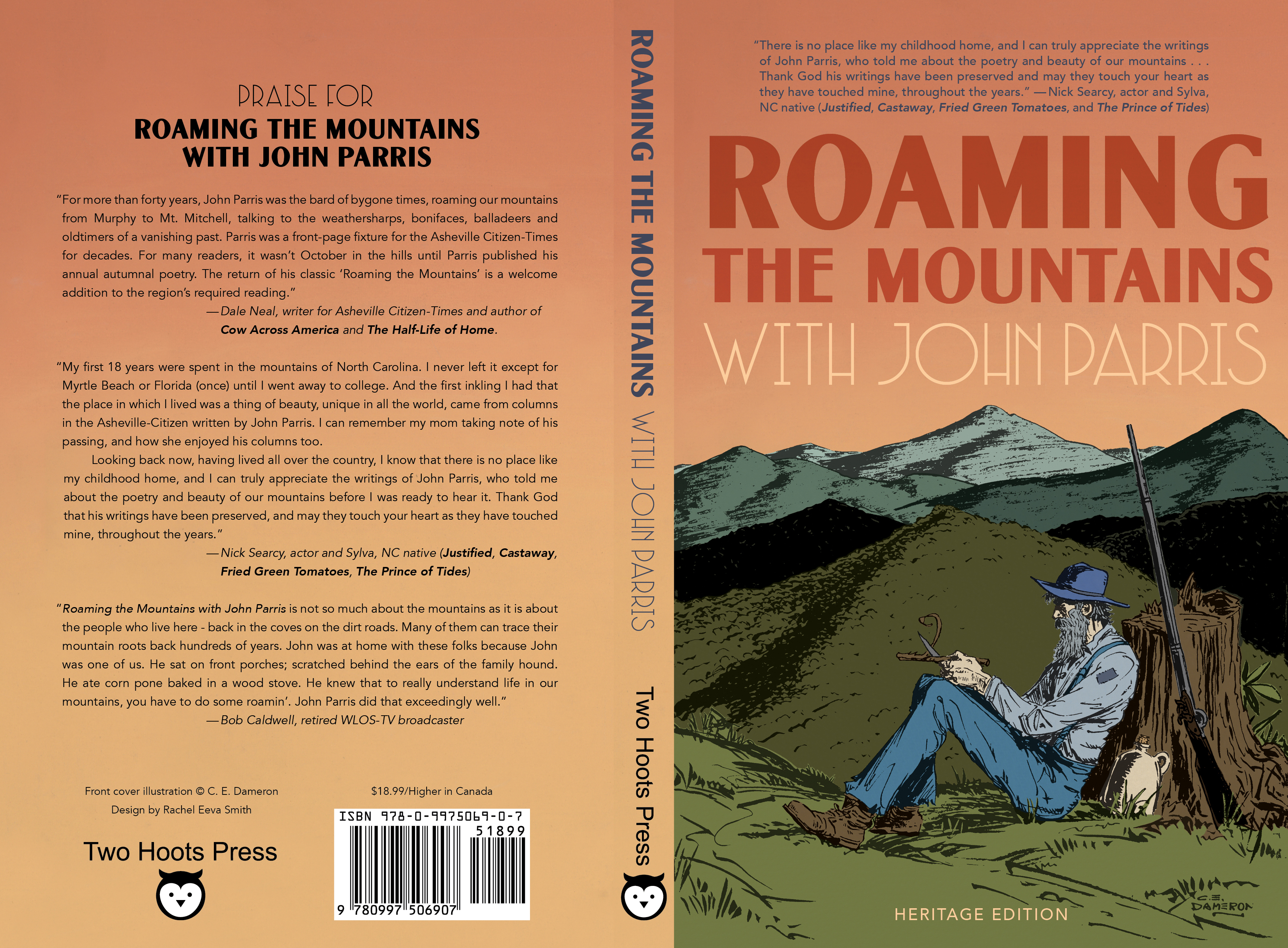 Full cover for ROAMING THE MOUNTAINS
