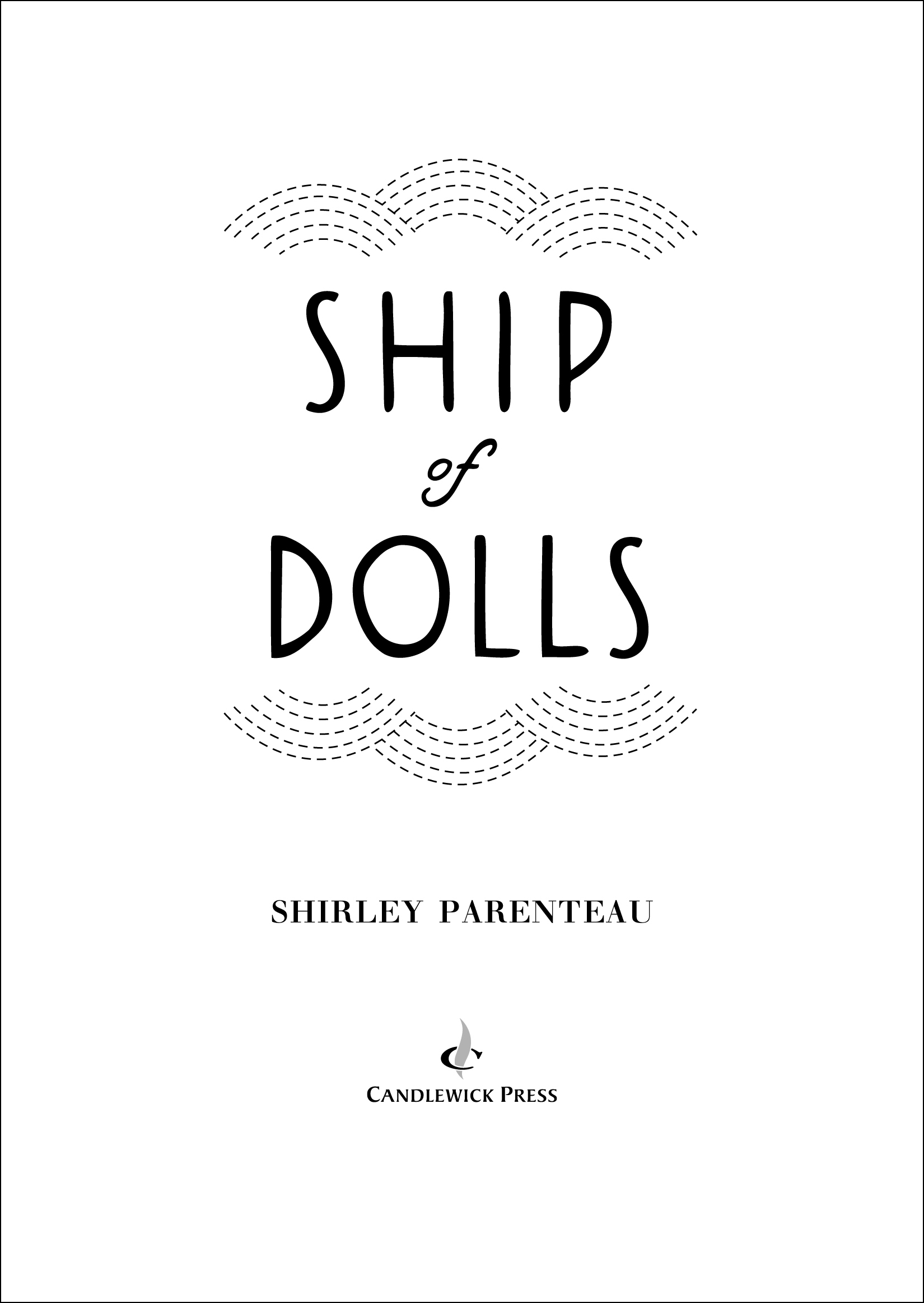Title page for SHIP OF DOLLS