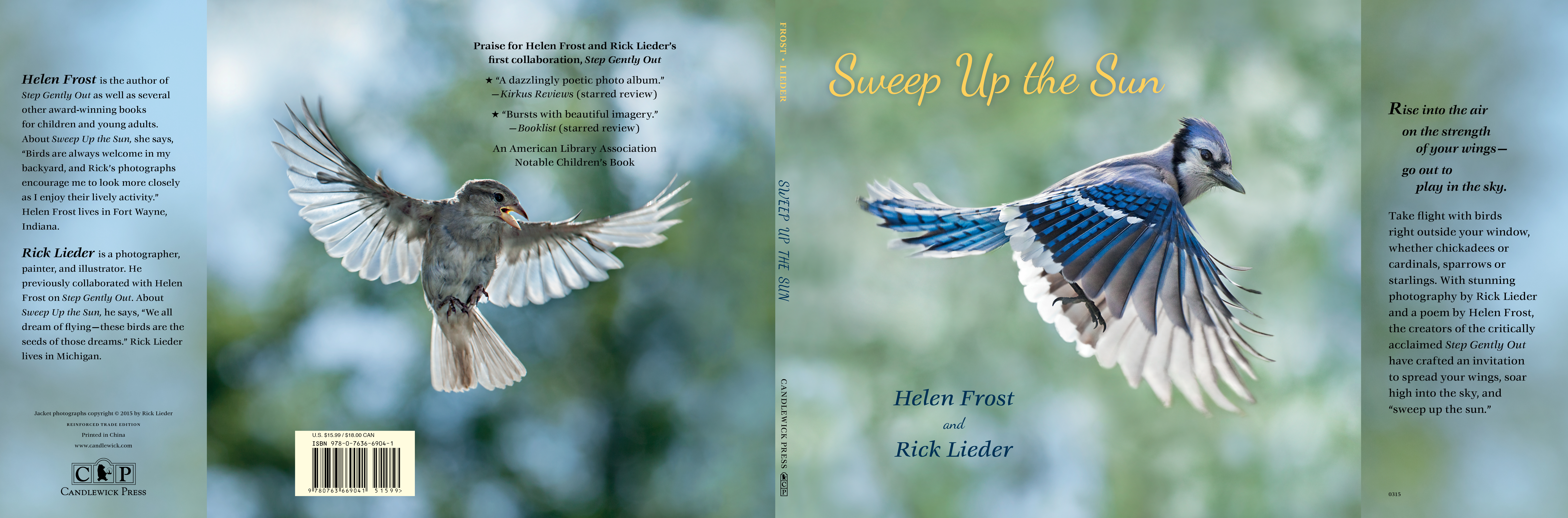 Full jacket for SWEEP UP THE SUN