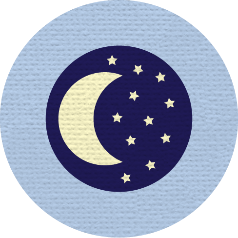 SLEEPING MERIT BADGE