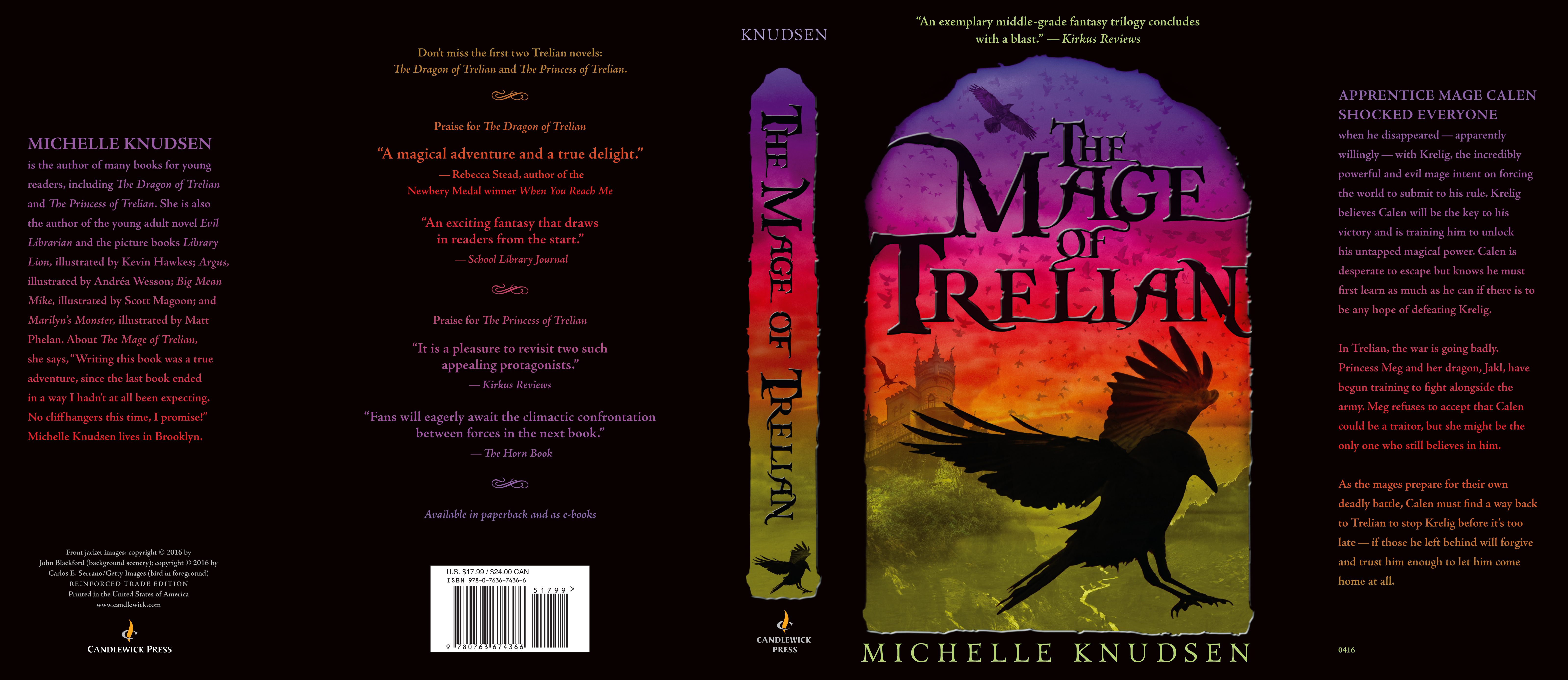Full jacket for THE MAGE OF TRELIAN