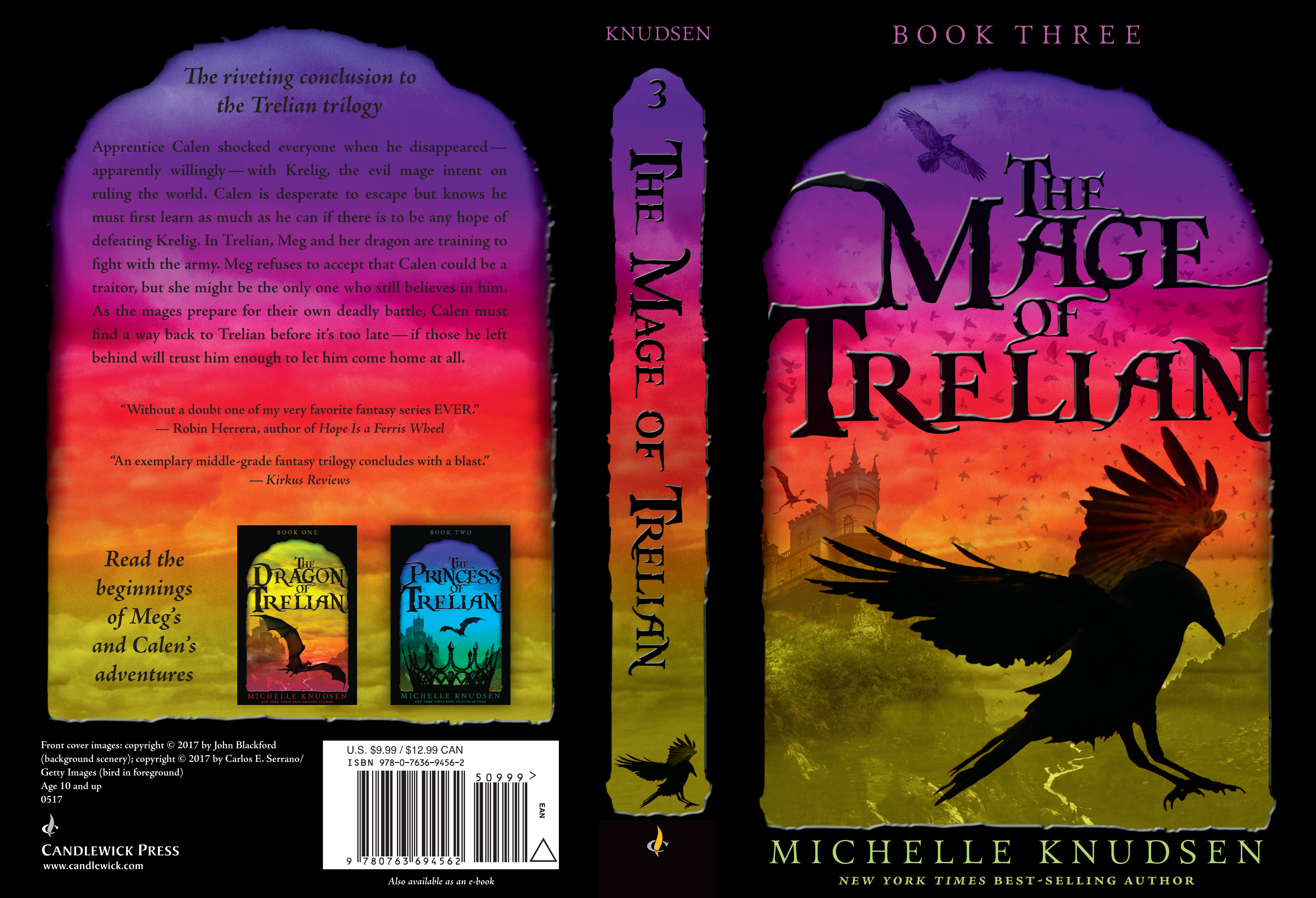 Paperback cover for THE MAGE OF TRELIAN