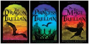 E-Book covers for the TRELIAN trilogy