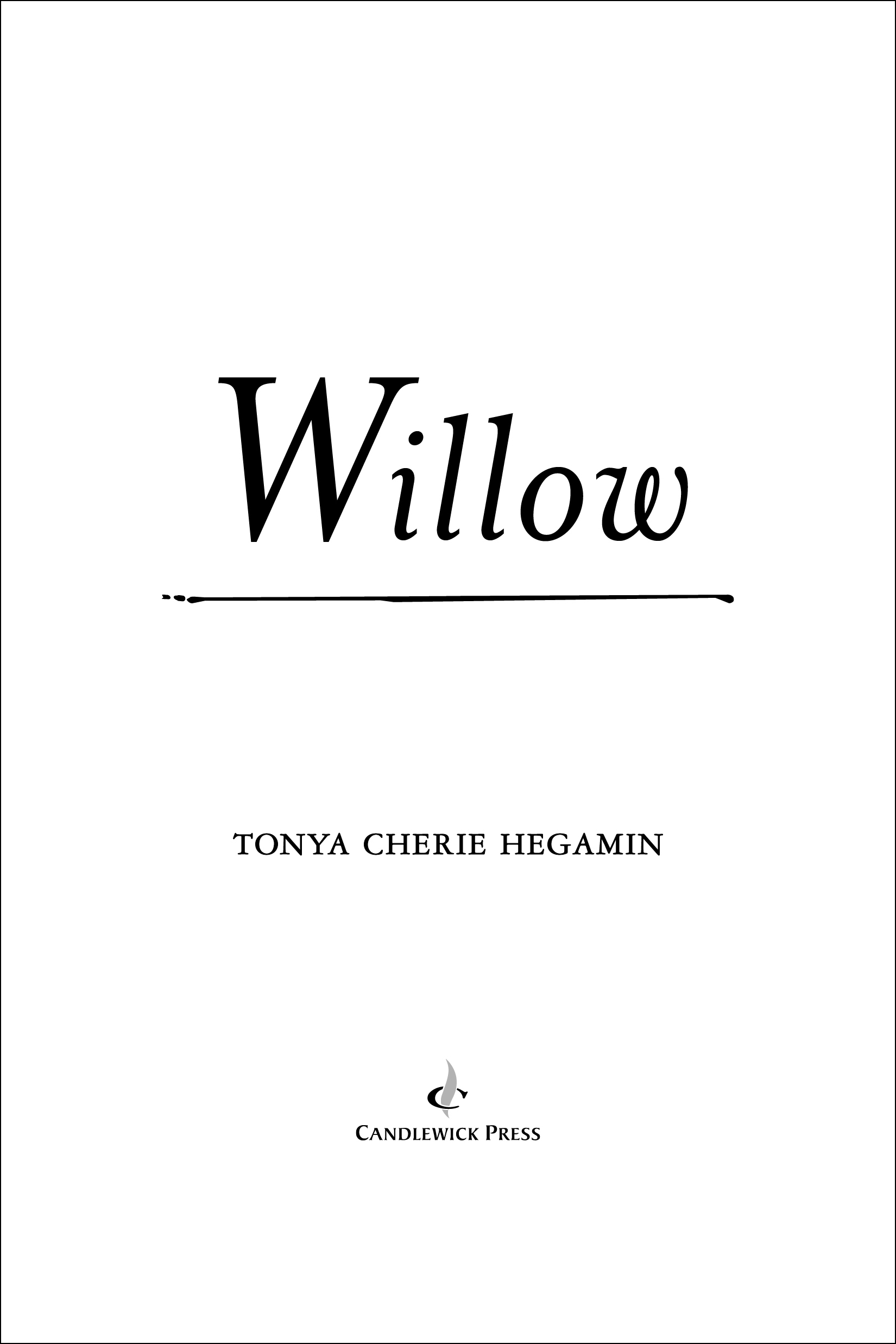 Title page for WILLOW