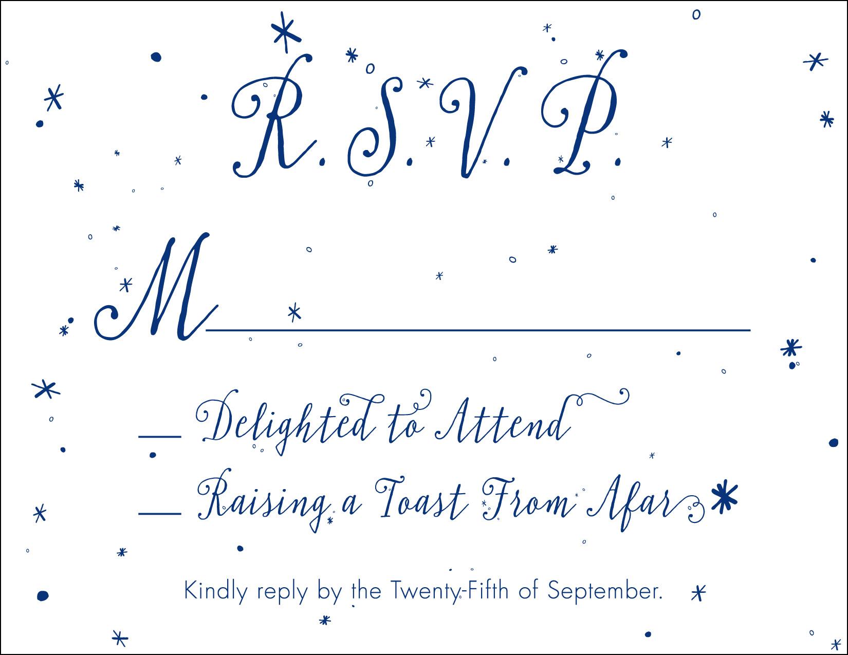 Lowe-Beasley Wedding, RSVP