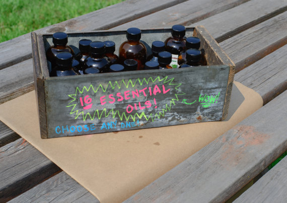 Essential oil options for HMF CHOICE