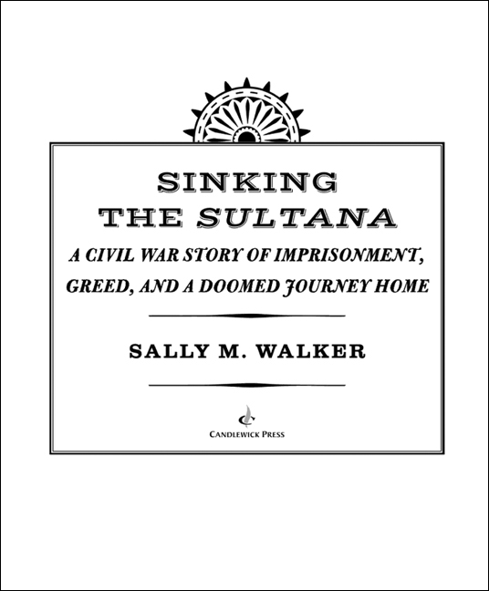 Title page for SINKING THE SULTANA