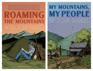 Covers for ROAMING THE MOUNTAINS and MY MOUNTAINS, MY PEOPLE