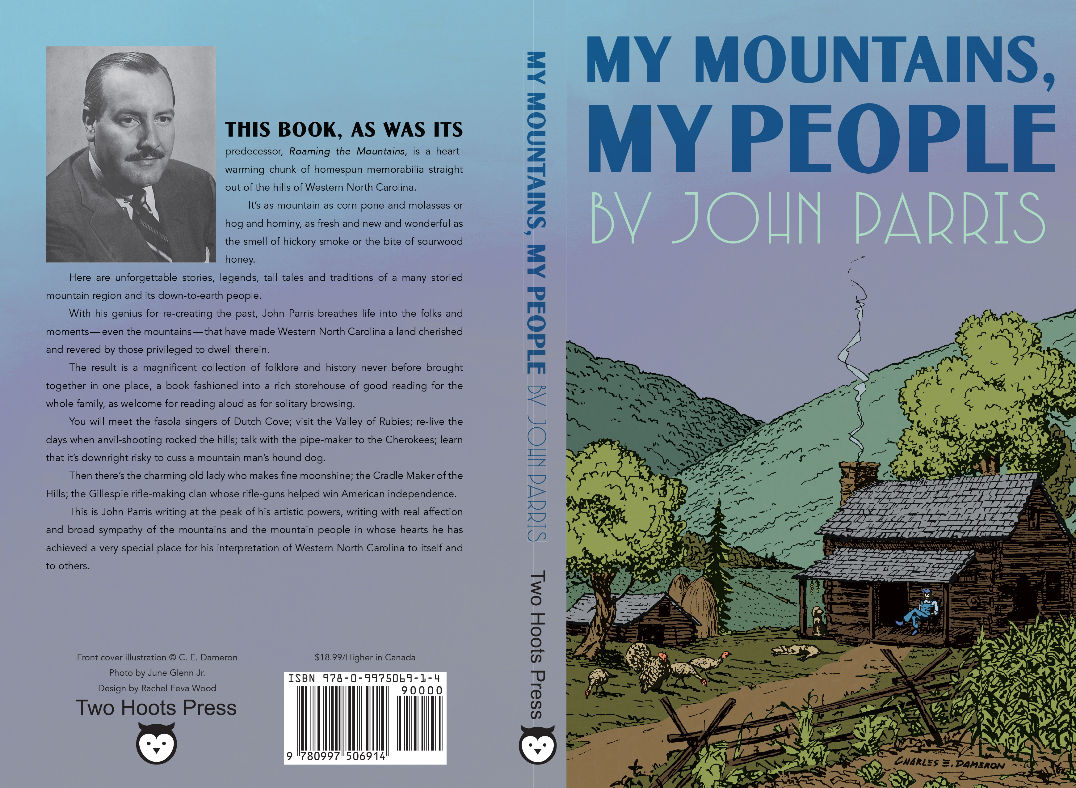 Full cover for MY MOUNTAINS, MY PEOPLE