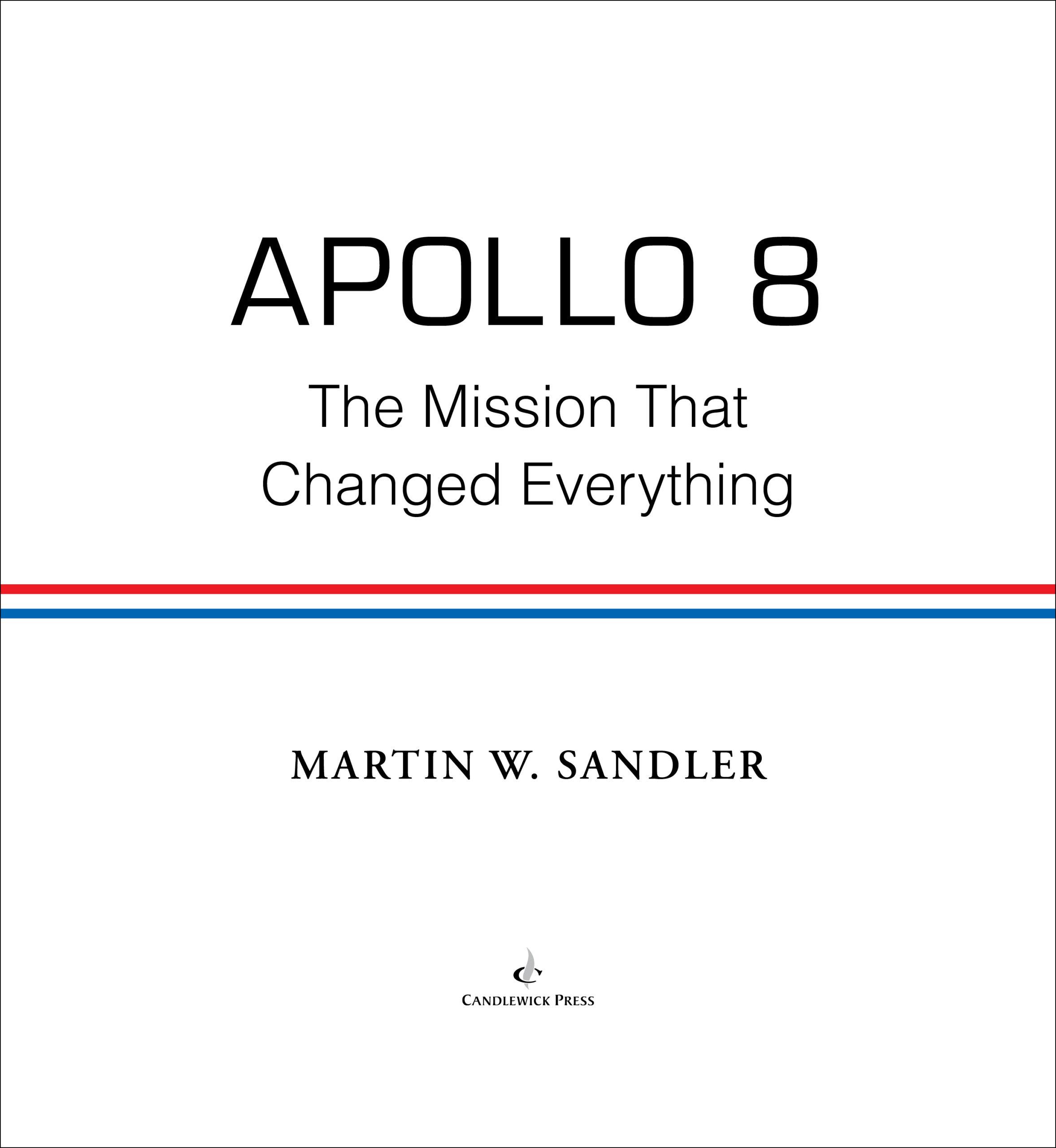 Title page for APOLLO 8