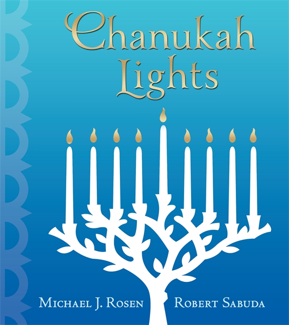 Cover spread for CHANUKAH LIGHTS