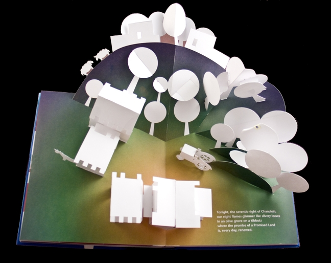 Interior spread for CHANUKAH LIGHTS